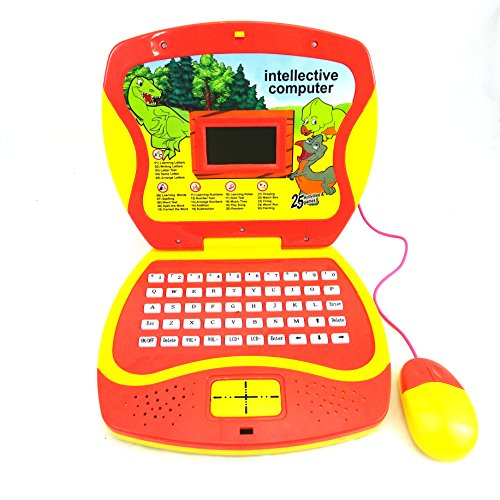 Kids Toy Learning Laptop Teaches Children Letter - Words - Music - Games- Battery Operated Toy Electronic Laptop