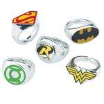 DC Comic Superhero Rings - Prizes and Giveaways - 50 per Pack