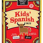 Magnetic Poetry – Kids' Spanish Kit – Ages 5 and Up – Words for Refrigerator – Write Poems and Letters on the Fridge – Made in the USA