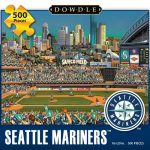 Jigsaw Puzzle - Seattle Mariners 500 Pc By Dowdle Folk Art