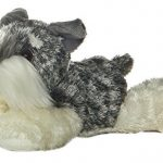 Aurora World – Stein the Schnauzer Mini Flopsie – Soft and Snuggly Plush Stuffed Animal – Small