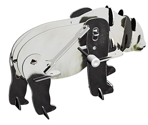 Smithsonian Mini Motorized Panda Bear 3D Puzzle