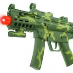 Special Force Camo SMG Children Kid's Pretend Play Battery Operated Toy Gun w/ Light, Sounds, Vibrations (Colors May Vary)