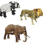Smithsonian Mini Motorized Wild Animal 3D Puzzle Pack