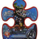 Marvel Avengers 8 Puzzle Collection With Puzzle Piece Box (48-piece each)