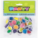 Plastic Gem Ring Party Favors, Assorted 24ct