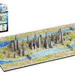 4D Cityscape Mini Puzzle (193 Piece), New York