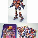 Mega Z Cardz Earth Defenders Scowl 3D Puzzle Robot