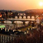 PigBangbang,Handmade Intellectiv Games 20.6 X 15.1'' Premium Basswood Can DIY 500 piece Nice Painting Present To Lover,Friend ect Home Decoration-Old Czech Town Prague Rivers