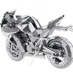 Piececool 3D Metal Puzzle Motorcycle I P046-S DIY Building Model DIY Laser Cutting Jigsaw Toy for Audit Kids Collection