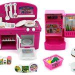 Mini Dream Kitchen Children's Kid's Toy Kitchen Playset w/ Accessories