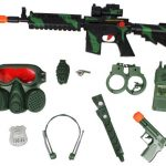 M16 Camo Green Toy Gun Commando SWAT Set Toy Guns for Kids, gun Toys High Quality