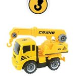 MukikiM Construct A Truck - Crane. Take it apart & put it back together + Friction powered(like 2-toys-in-1!) Awesome award winning toy that encourages creativity!