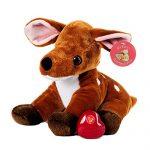 My Baby's Heartbeat Bear - Deer Stuffed Animal w/ 20 sec Voice Recorder - Deer