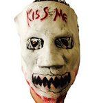 Kiss Me Mask Latex Rubber, Fancy Dress, Election Halloween Horror, Purge Costume