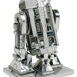 Star Wars Metallic Nano Puzzle R2-d2 (Tm) Smn-01