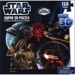 Star Wars Super 3D Puzzle Darth Maul 150 Pieces