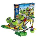 Motorial Alien Robot: Frog Overlord - Robotic Building Set Block Toy ,Battery Motor Operated,3D Puzzle Design Alien Primate Robot Figure for kids and adults - LOZ NanoBlocks DIY Educational Toys