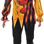 Rubie's Costume Co. Men's the Killer Clown Costume, As Shown, Standard