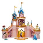 Disney Princess Light-Up Castle Play Set Includes 10 Princess Figurines