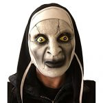 Scary Nun Mask, Latex, Horror, Varak, Halloween, Nuns Habit Costume