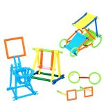 3D Puzzle Smart Stick Bars Creative Toys Different Shape Building set Stacking Blocks geometry toy bricks 118Pcs