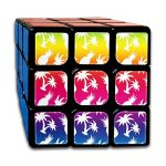 Rainbow Seamless Pineapple With Coconut Speed Cube 3x3x3 Sticker Speed Cube Smooth Magic Cube Puzzle