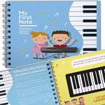 My First Note: Play the Keyboard for Kids, Music Notes With Letters and Songs for Children and Toddlers, Music Educational Book for Beginning Musicians!