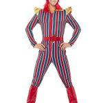 Smiffy's Men's Space Superstar Costume, Multi, Medium
