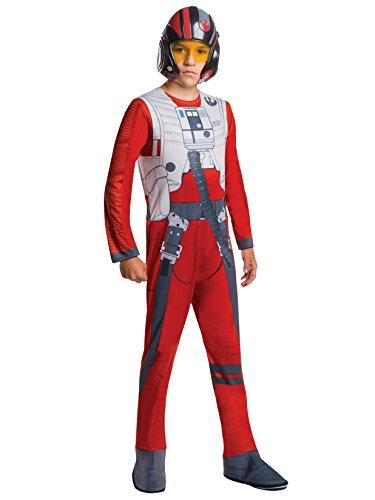 Rubie's Costume Star Wars Episode VII: The Force Awakens Value Poe Child Costume, Medium