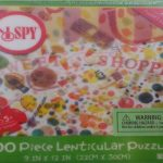 "I SPY Sweet Shoppe - 3D Lenticular Puzzle & Riddle Game - 100 Pieces 9"" x 12"""