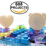 7TECH Integrated Circuit Electronic Building Blocks 688 Projects DIY Brain Game Educational Science toys for Kids