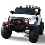 New Limited Edition Jeep Wrangler Style 12v Ride on Toy, Car for Kids with Remote Control
