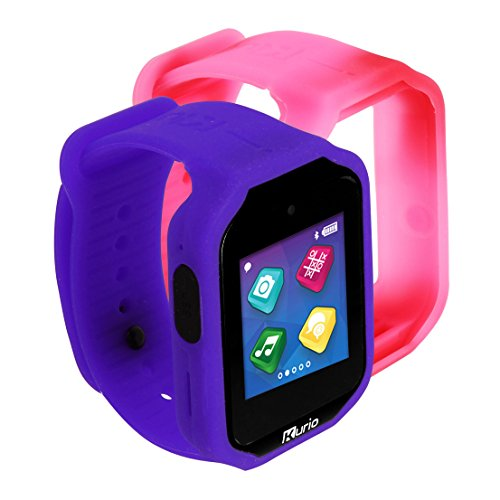 Kurio Watch 2.0+ The Ultimate Smartwatch Built for Kids, 1, 4.728 x 7.88 x 3.152, Lavender