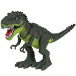 COSTYLE Kids Toy Walking Dinosaur T-Rex Toy Figure With Lights & Sounds, Real Movement