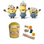 "Super Surprise capsule ""Minions"" with puzzle and 3d toy and card from cartoon"