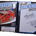 DIY 3D Creator Motorized Street Racer - Red