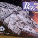 Millenium Falcon, 857 Piece 3D Jigsaw Puzzle Made by Wrebbit Puzz-3D by Wrebbit