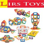 Lirs TOYS 72-pcs: Magnetic Blocks, Magnetic Tiles, Building Blocks Set For Kids/Toddlers - Great for 3+ year old .Creativity & Educational Toys for Boys/Girls.Premium 3D