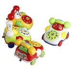 Stebcece Baby Toys Educational Developmental Kids Toy Gift Music Cartoon Phone New