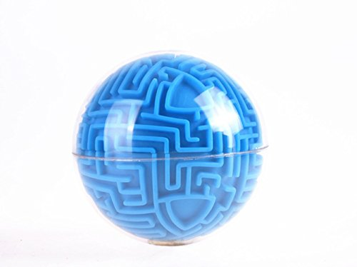 Rumfo 3D Magic Maze Puzzle Ball Figet Toy Puzzle Game Brain Teaser Ball Magic Games Intelligent toy Toys for Kids Boys Girls Adults Holiday Birthday Xmas Gifts
