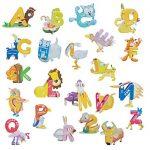 3D Alphabet Animal Puzzle