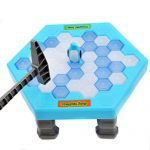 Kanzer Kids Mini Save Penguin Game Break Ice Block Hammer Trap Education Toy Puzzle Toy Gift
