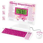 Winfun Little girl Kid Interactive Learning Simple Concepts LCD Laptop … (Pinktastic)