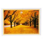 Slowsilent -Fallen leaves-1000 Pieces 3D Jigsaw Puzzle for Adults - Educational Toy Painting Learning Gift for Kids 75×50cm