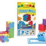 The Happy Cube - Set of 6 Foam Puzzle Cubes - Ages 5 +