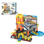 LilPals Deluxe Garage Play Set – Multi-Piece Children's Toy Set – Variety Of Cars, Fuel Pumps, Lift, Elevator, Etc. - Makes Great Gift!!