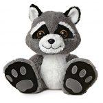 Aurora World Taddle Toes Racer Raccoon Plush by Aurora World