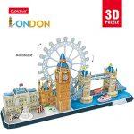 CubicFun MC253h London CityLine Series 3d Puzzle, 107 Pieces