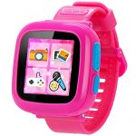 GBD Game Smart Watch for Kids Children Boys Girls with Camera 1.5'' Touch 10 Games Pedometer Timer Alarm Clock Learning Toys Gifts Wrist Watch Health Monitor (001CutePink)